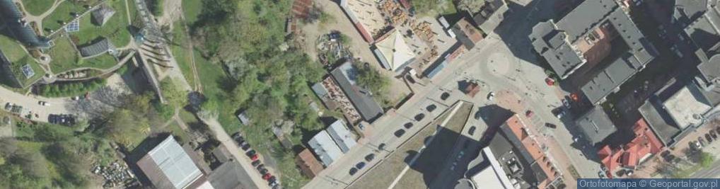 Zdjęcie satelitarne Młynowa ul.