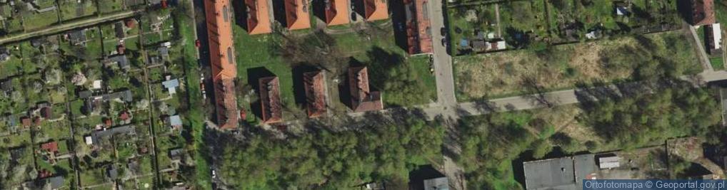 Zdjęcie satelitarne Młodzieżowa ul.