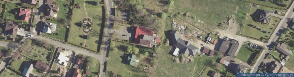 Zdjęcie satelitarne Młyny Serafińskie ul.