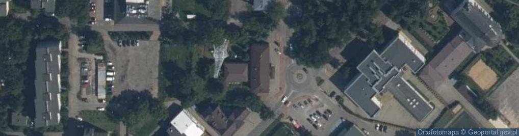 Zdjęcie satelitarne Mniszkówny Heleny ul.