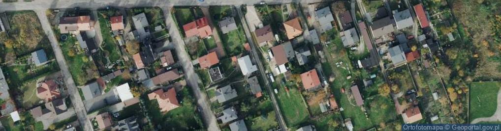 Zdjęcie satelitarne Motyli ul.