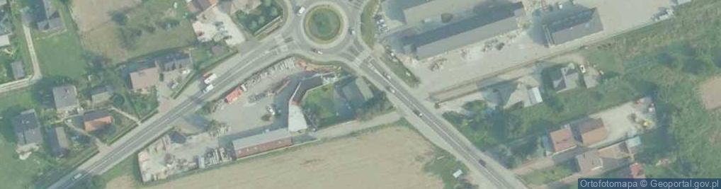 Zdjęcie satelitarne Mostowa ul.