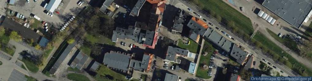 Zdjęcie satelitarne Moniuszki Stanisława ul.