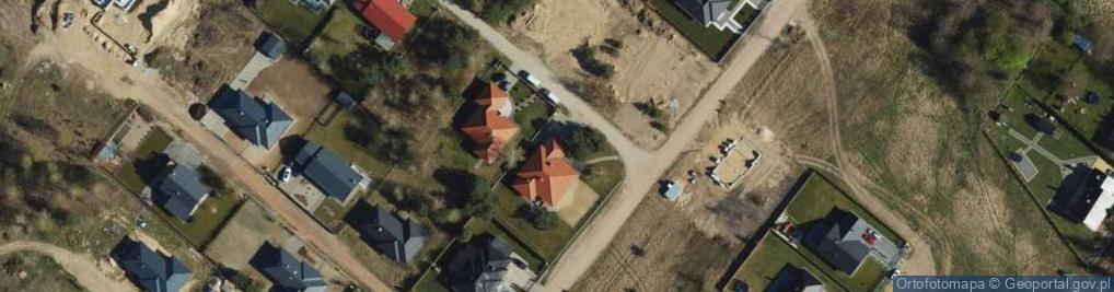 Zdjęcie satelitarne Morelowy Zakątek ul.