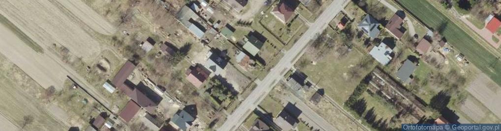 Zdjęcie satelitarne Mokre ul.