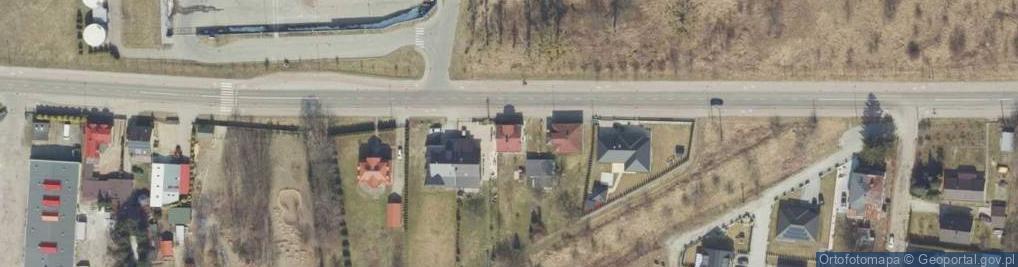 Zdjęcie satelitarne Mogilnickiego Jana, ks. ul.