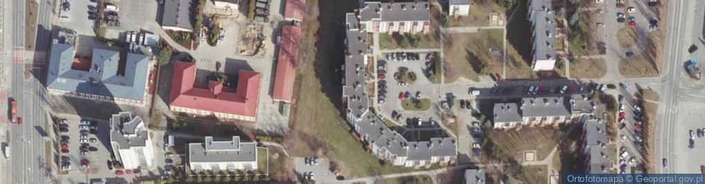 Zdjęcie satelitarne Monte Cassino ul.