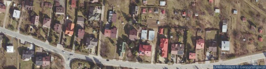 Zdjęcie satelitarne Morgowa ul.