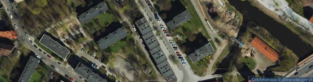 Zdjęcie satelitarne Mostnika Michała ul.