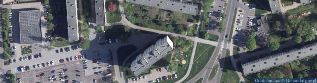 Zdjęcie satelitarne Mocarskiego Zygmunta ul.