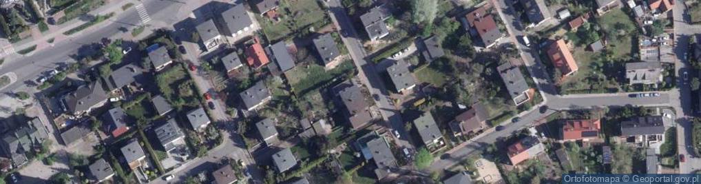 Zdjęcie satelitarne Moczyńskiego Zygmunta ul.