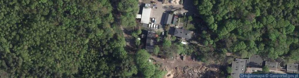 Zdjęcie satelitarne Morycińskiego Hugona ul.