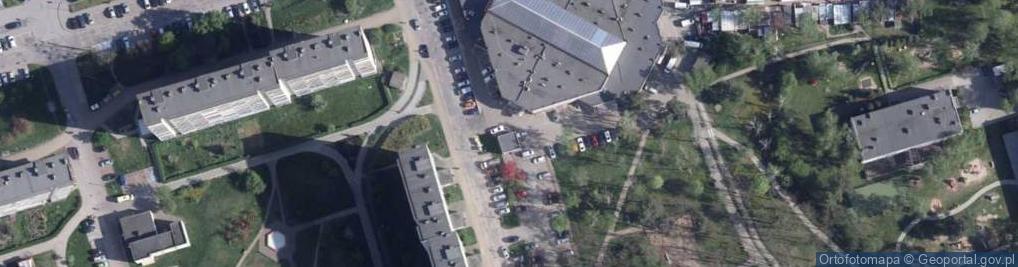 Zdjęcie satelitarne Mossakowskiego Józefa ul.