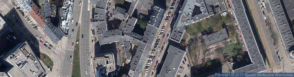 Zdjęcie satelitarne Mokotowska ul.