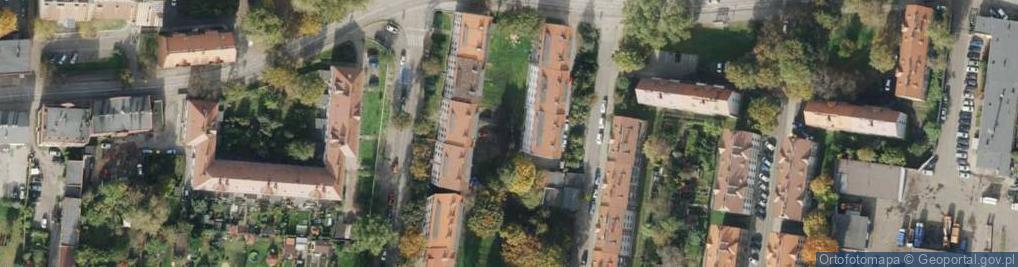Zdjęcie satelitarne Morawskiego Franciszka ul.