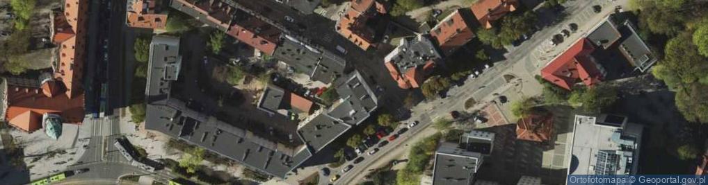 Zdjęcie satelitarne Mrongowiusza Krzysztofa Celestyna ul.
