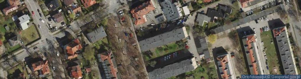 Zdjęcie satelitarne Mściwoja II ul.