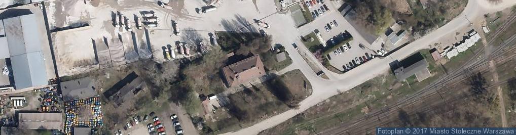 Zdjęcie satelitarne Mszczonowska ul.
