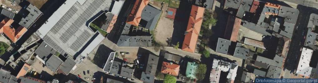 Zdjęcie satelitarne Murarska ul.