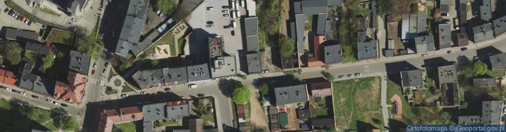 Zdjęcie satelitarne Musialika Feliksa ul.