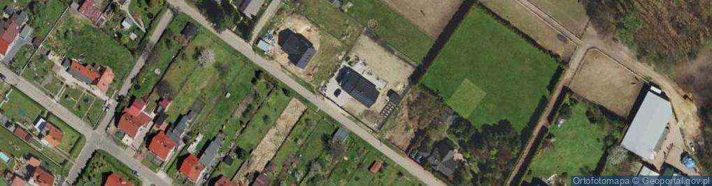 Zdjęcie satelitarne Musioła ul.