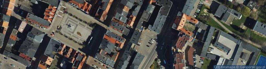Zdjęcie satelitarne Murowa ul.