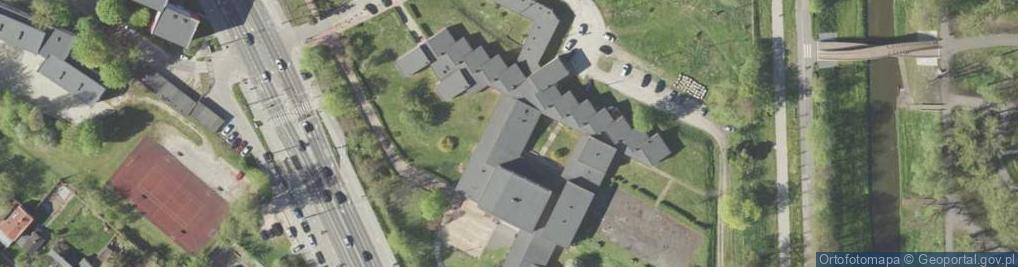 Zdjęcie satelitarne Muzyczna ul.