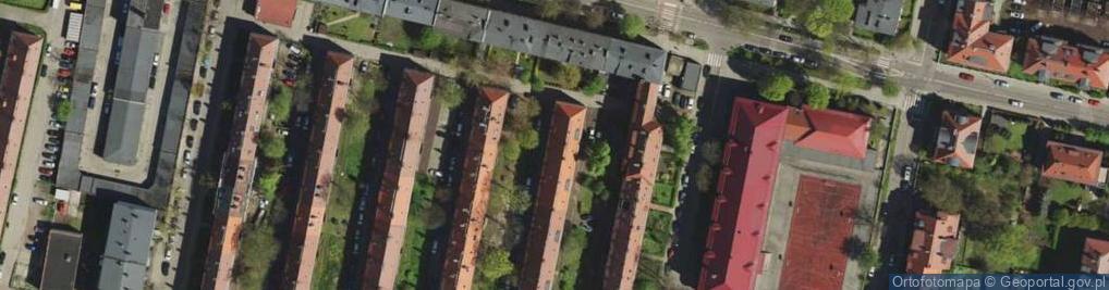Zdjęcie satelitarne Myśliwca Serafina, por. ul.