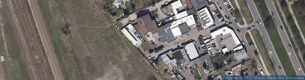 Zdjęcie satelitarne Myszyniecka ul.