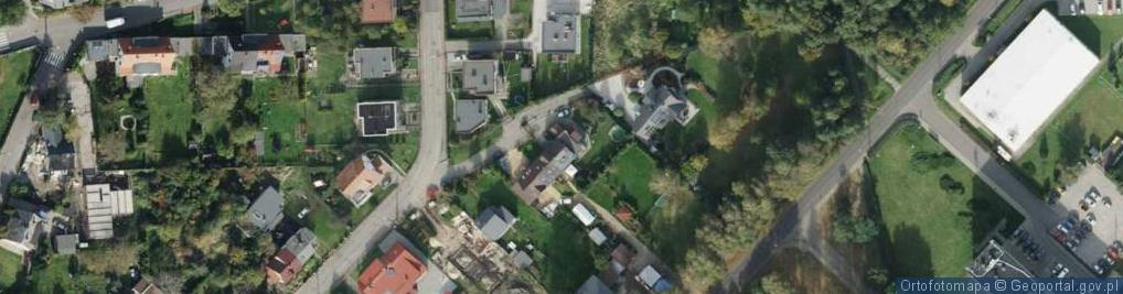 Zdjęcie satelitarne Myśliwska ul.