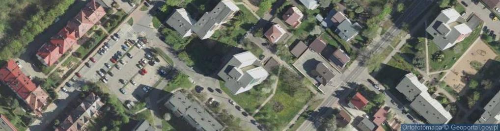 Zdjęcie satelitarne Najmilsza ul.