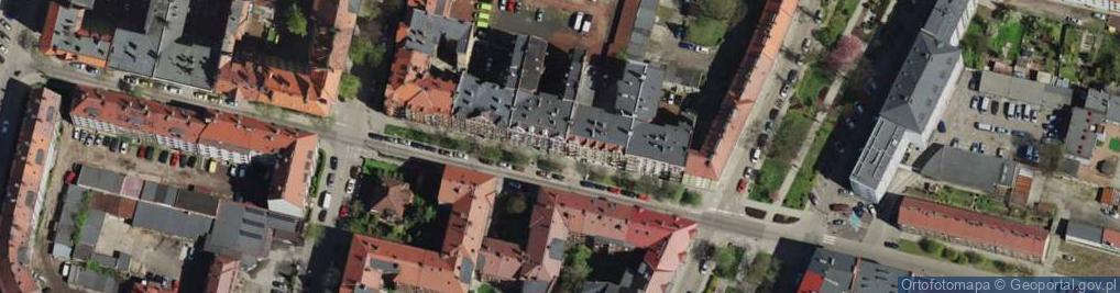 Zdjęcie satelitarne Nawrota Franciszka, ks. ul.