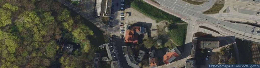Zdjęcie satelitarne Na Stoku ul.