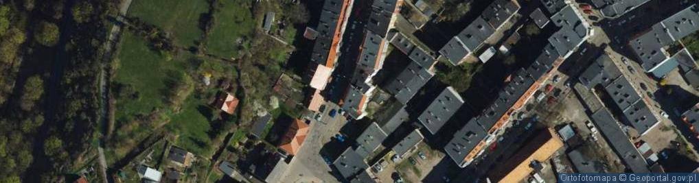 Zdjęcie satelitarne Nadgórna ul.