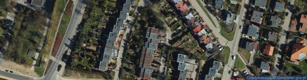Zdjęcie satelitarne Nałkowskiej Zofii ul.