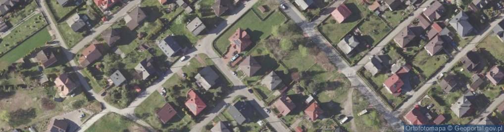 Zdjęcie satelitarne Na Błoniach ul.