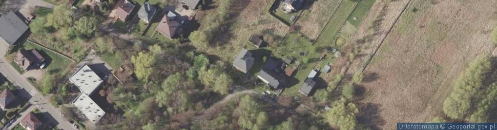 Zdjęcie satelitarne Na Stawach ul.