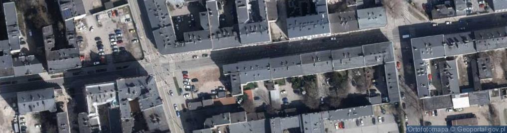 Zdjęcie satelitarne Nawrot ul.
