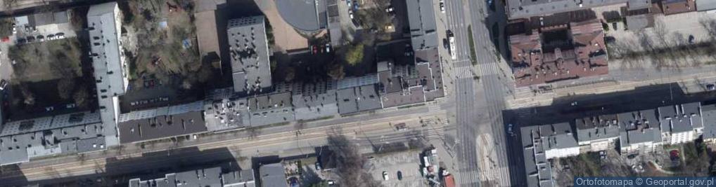 Zdjęcie satelitarne Narutowicza Gabriela, Prezydenta ul.