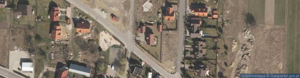 Zdjęcie satelitarne Nagietkowa ul.