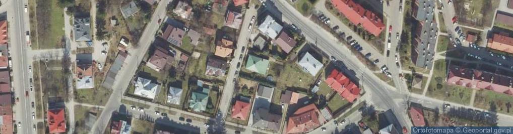 Zdjęcie satelitarne Naruszewicza Adama ul.