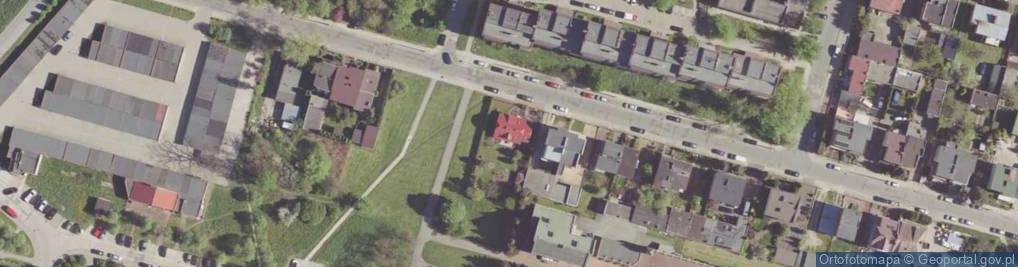 Zdjęcie satelitarne Natolińska ul.