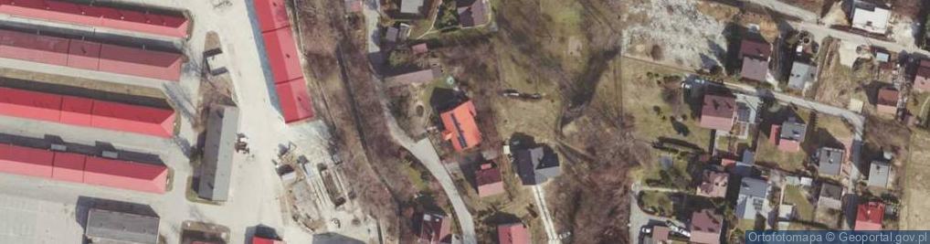 Zdjęcie satelitarne Na Skały ul.