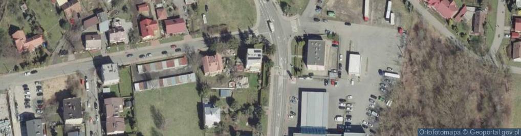 Zdjęcie satelitarne Nadbrzeżna Górna ul.