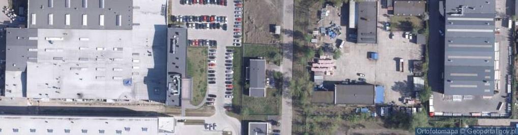 Zdjęcie satelitarne Na Zapleczu ul.