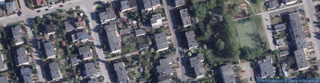 Zdjęcie satelitarne Narcyzowa ul.