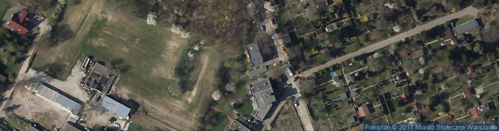 Zdjęcie satelitarne Nadrzeczna ul.