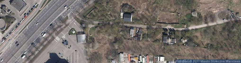 Zdjęcie satelitarne Na Bateryjce ul.
