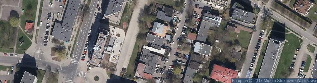 Zdjęcie satelitarne Narocz ul.