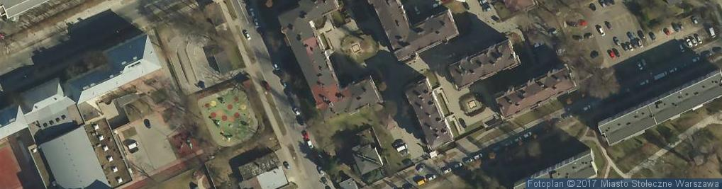 Zdjęcie satelitarne Nadwiślańska ul.